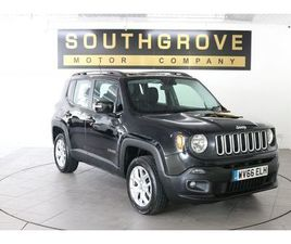 JEEP RENEGADE 2.0 M-JET LONGITUDE 5D 138 BHP 2 OWNERS WITH 7 SERVICE STAMPS