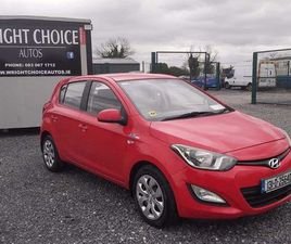 2013 HYUNDAI I20 NCT 01/23 FOR SALE IN DUBLIN FOR €6,650 ON DONEDEAL