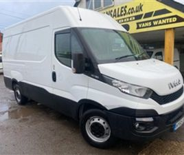 USED 2015 IVECO DAILY 35S13V MWB NEW SHAPE NOT SPECIFIED 100,000 MILES IN WHITE FOR SALE |