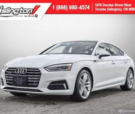 2019 AUDI A5 SPORTBACK PREMIUM **LOW KMS!!**|LEATHER|SUNROOF|BKPCAM+++ | CARS & TRUCKS | C