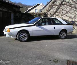 RENAULT FUEGO GTX 2L - 1982