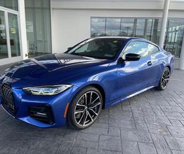 BRAND NEW BLUE COLOR 2021 BMW 4 SERIES 430I XDRIVE FOR SALE IN MECHANICSBURG, PA 17050. VI