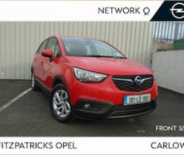 OPEL CROSSLAND X SC 1.2I 82PS 5DR NATIONWIDE DELI FOR SALE IN CARLOW FOR €15950 ON DONEDEA