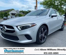SILVER COLOR 2020 MERCEDES-BENZ A-CLASS A 220 4MATIC FOR SALE IN BOWIE, MD 20716. VIN IS W