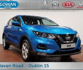 NISSAN QASHQAI ACENTA 1.2 DIG-T PETROL 5DR SMART FOR SALE IN DUBLIN FOR €18,750 ON DONEDEA
