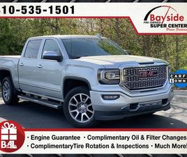 SILVER COLOR 2017 GMC SIERRA 1500 DENALI FOR SALE IN PRINCE FREDERICK, MD 20678. VIN IS 3G