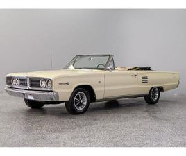 FOR SALE: 1966 DODGE CORONET IN CONCORD, NORTH CAROLINA