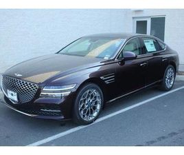 BRAND NEW RED COLOR 2021 GENESIS G80 FOR SALE IN CHANTILLY, VA 20151. VIN IS KMTGB4SC9MU04