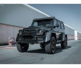 MERCEDES-BENZ G 500 4X4² BRABUS B40 500 1 OF 1 VIP BESPOKE CAR