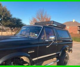1989 FORD BRONCO ALL ORIGINAL, NUMBERS MATCHING 4X4