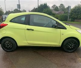 USED 2009 FORD KA 1.2 STUDIO HATCHBACK 86,305 MILES IN GREEN FOR SALE   CARSITE