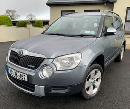 2013 SKODA YETI 1.6 DIESEL 104KMS NCT 02/23 FOR SALE IN WEXFORD FOR €9,950 ON DONEDEAL
