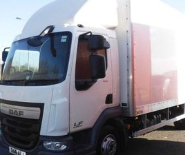DAF LF45-150 EURO 6, 2016 20FT GRP BOX T/LIFT FOR SALE IN DOWN FOR £22,950 ON DONEDEAL