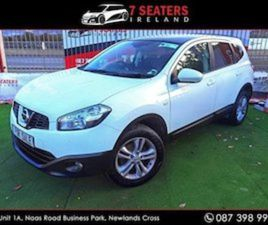 NISSAN QASHQAI +2 GLASS MOONROOF LOW MILEAGE PR FOR SALE IN DUBLIN FOR €9900 ON DONEDEAL