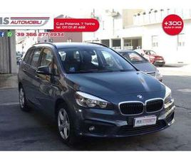 BMW 218 218D GRAN TOURER ADVANTAGE 7 POSTI GANCIOTRAINO U