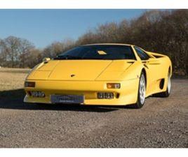 USED 1993 LAMBORGHINI DIABLO 5.7 VT - UNDERGOING RESTORATION NOT SPECIFIED 49,000 MILES IN