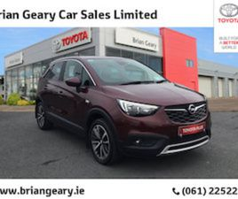OPEL CROSSLAND X SE 1.2I 110PS 5DR AUTO FOR SALE IN LIMERICK FOR €19950 ON DONEDEAL