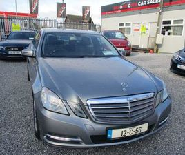 MERCEDES-BENZ E-CLASS, 2012 MANUAL FOR SALE IN CORK FOR €11,950 ON DONEDEAL