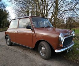USED 1979 AUSTIN MINI 1000 SALOON 21,575 MILES IN BROWN FOR SALE | CARSITE