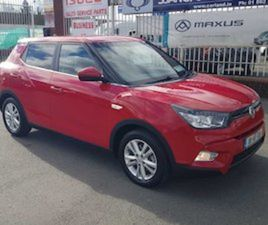 SSANGYONG TIVOLI, 2018 FOR SALE IN DUBLIN FOR €16999 ON DONEDEAL