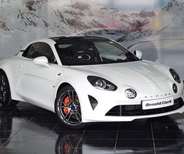 NEARLY NEW 2021 (21) ALPINE A110 1.8L TURBO 292 S 2DR DCT IN GLASGOW