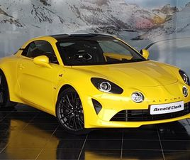 NEARLY NEW 2021 (70/21) ALPINE A110 1.8L TURBO 292 COLOR EDITION 2DR DCT IN GLASGOW