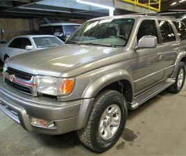 FOR SALE: 2002 TOYOTA 4RUNNER IN CADILLAC, MICHIGAN