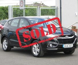 HYUNDAI IX35 1.7 CRDI 2WD STYLE FOR SALE IN KILDARE FOR €11,950 ON DONEDEAL