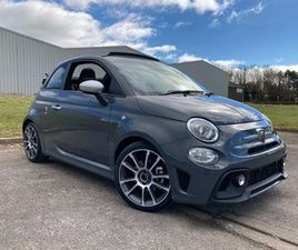 ABARTH 595 TURISMO 1.4 TJET 165HP CONVERTIBLE 2DR