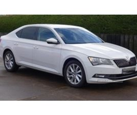 USED 2017 SKODA SUPERB SE BUSINESS TDI S- SALOON 79,000 MILES IN WHITE FOR SALE | CARSITE