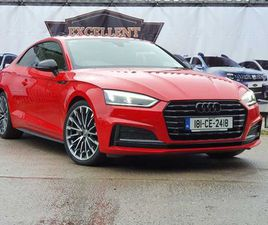 AUDI A5, 2018 S-LINE BLACK EDITION STUNNING LOW KM FOR SALE IN CORK FOR €32,750 ON DONEDEA
