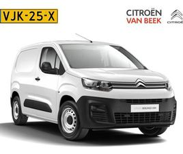 CITROËN BERLINGO BLUEHDI 100 CLUB 3 ZITPLAATSEN VOORIN | CONNECT NAVIGATIE DAB+