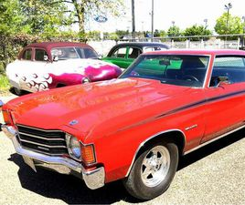 FOR SALE: 1972 CHEVROLET CHEVELLE IN STRATFORD, NEW JERSEY