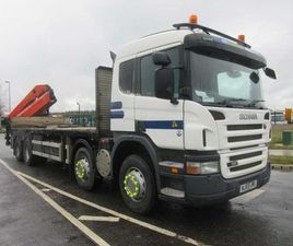 SCANIA P380 PALFINGER 27000 FOR SALE IN KILDARE FOR €35,000 ON DONEDEAL