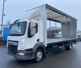 2015 DAF LF 55 180 14 TON CURTAINSIDER FOR SALE IN ARMAGH FOR €1 ON DONEDEAL