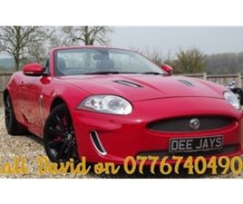 USED 2010 JAGUAR XKR V8 S-C AUTO CONVERTIBLE 58,830 MILES IN RED FOR SALE   CARSITE