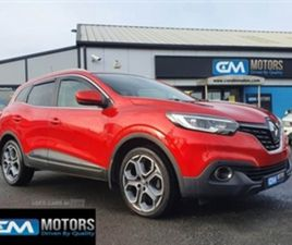 USED 2016 RENAULT KADJAR DYNAMIQUE S NAV DC NOT SPECIFIED 36,850 MILES IN RED FOR SALE | C