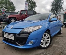 USED 2013 RENAULT MEGANE 1.6 DYNAMIQUE TOMTOM VVT 3D 110 BHP COUPE 79,007 MILES IN BLUE FO