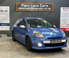 USED 2011 RENAULT CLIO ** VERY RARE CAR ** 1.6 NOT SPECIFIED 95,442 MILES IN BLUE FOR SALE