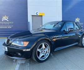 USED 1999 BMW Z3 COUPE LHD MANUAL COUPE 140,000 MILES IN BLACK FOR SALE | CARSITE