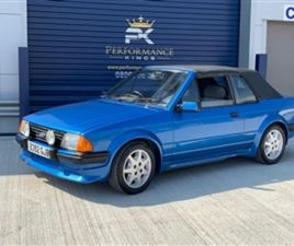 USED 1985 FORD ESCORT CONVERTIBLE CONVERTIBLE 43,601 MILES IN BLUE FOR SALE | CARSITE