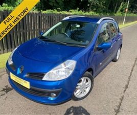 USED 2009 RENAULT CLIO 1.1 DYNAMIQUE 16V 5D 75 BHP ESTATE 60,000 MILES IN BLUE FOR SALE |