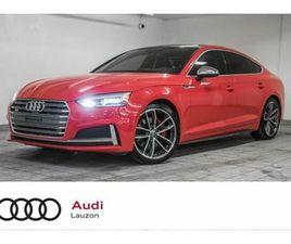 2018 AUDI S5 SPORTBACK TECHNIK   CARS & TRUCKS   LAVAL / NORTH SHORE   KIJIJI