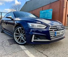 USED 2017 AUDI S5 S5 SPORTBACK TFSI QUATTRO OVER £7000 WORTH OF EXTRAS HATCHBACK 37,840 M