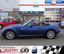 BMW Z3 ROADSTER 1.9 CABRIOLET NL AUTO / LEDER / MAT BLAUW