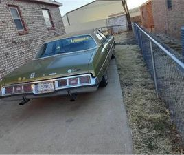 FOR SALE: 1973 CHEVROLET CAPRICE IN CADILLAC, MICHIGAN