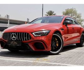 2019 !! GCC !! BRAND NEW !! MERCEDES BENZ GT63S AMG 4 MATIC !! UNDER WARRANTY !! | DUBIZZL