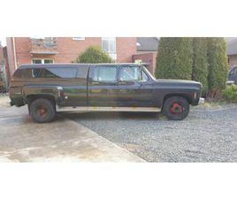 CHEVROLET C DUALLY 454 CHEYENNE SUPER CREW CAB CAMPER GMC