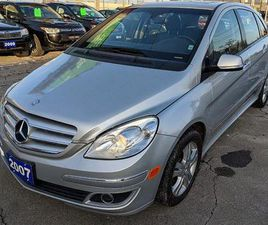USED 2007 MERCEDES-BENZ B200 TURBO