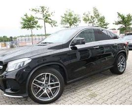 MERCEDES-BENZ GLE 350 D COUPE 4MATIC 9G-TRONIC AMG LINE
